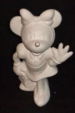Ceramic Bisque Authentic Minnie Mouse Vintage Disney U-Paint Ready To Paint