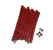 Red 525x150 O-Ring Drive Chain Motorcycle 525 Pitch 150 Links 8200# Tensile