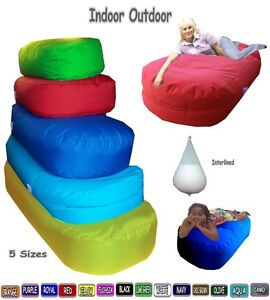 Large Bean Bags Sofa Beds In Out Door Lounger Ottoman Settee Bag Giant Day Bed