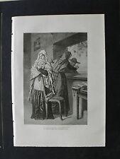 Antica Xilografia = TYPER DES BALEARES- FEMMES-FEMMINE DI IBIZA= España=1887