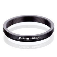 Camera 43.5mm Lens to 40mm Accessory Step Down Adapter Ring 43.5mm-40mm
