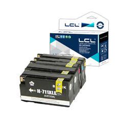 5X Cartucce d'inchiostro per HP 711XL 711 XL Designjet T120 24 T120 610 NON-OEM