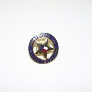UA Plumbers Pipefitters Steamfitters Union Local 100 Lapel Pin DALLAS TEXAS