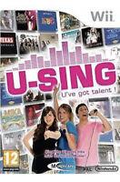 U Sing U've Got Talent Nintendo Wii