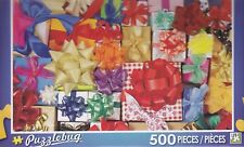 New Puzzlebug 500 Piece Jigsaw Puzzle ~ Colorful Wrapped Presents