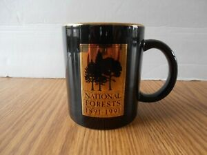 US Department of Agriculture Coffee Mug National Forests 1891-1991