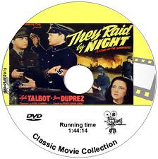 They Raid By Night 1942, British Commandos  2nd World War Movie on DVD