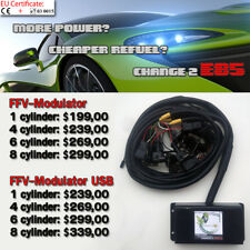 E85 bioethanol conversion - FLEX FUEL TUNING KIT - FFV Modulator USB 4 cylinder