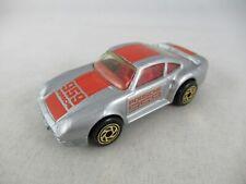Matchbox Porsche 959 light grey gold wheels