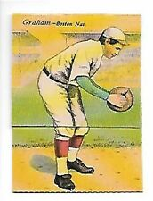 1911 Mecca Double Folders T201 #34 Al Mattern/Peaches Graham    DOVER REPRINT