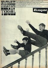 J- Publicité Advertising 1962 Vetements pour enfants pantalon Tergal