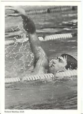 Germany Olympic Games Olympische Spiele Roland Matthes Olympic postcard
