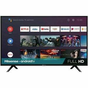 """Hisense 40"""" 1080p Full HD LED Smart Android TV   2 HDMI   40H5580F"""