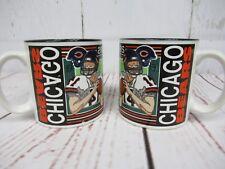 Chicago Bears Coffee Mug Lot Of 2 1992 Sports Impressions Team Nfl Fast Ship