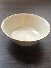 "Lenox Hayworth Round Serving Bowl 9-1/4"" Cosmopolitan Ivory Gold Trim Mint Cond"