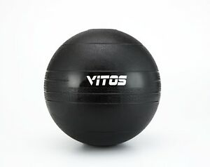 Vitos Fitness Exercise Slam Medicine Ball 10 to 70 lb Durable Weighted Gym