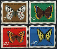 West Germany 1962 SG#1290-3 Butterflies MNH Set #D355