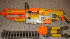 NERF VULCAN EBF-25 PULSE RIFLE CHAIN GUN 8 FEET TRIPOD TESTED, WORKS GREAT