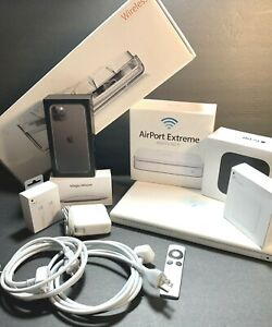Miscellaneous Lot Of Apple Products & Empty Retail Boxes