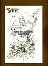 Legend Of The Sage #1 Rare RRP Euro Sketch Manufacturing Error Variant AP