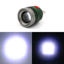 Mini 3 Modes LED USB Charge Flashlight Handlight Torch Zoomable Lamp Alloy