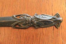 L.ROSSI - Coupe Papier bronze Art Nouveau Insecte 1900 signé