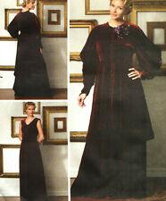 Dress Jacket Costume Making History 14 16 18 20 Butterick Sewing Pattern 5405
