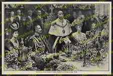 Sam Begg Wilhelm II. Kaiserpaar Staatsbesuch London Guildhall England Adel 1907!