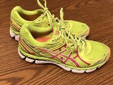 Asics T3P8N GT 2000 2  Volt Yellow Pink Men's Running Cross Training Shoes Sz 7