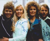 Bjorn Ulvaeus & Benny Andersson ABBA HAND SIGNED 8x10 Photo, Autograph