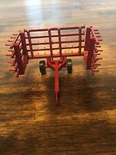 1/64 Scale Custom Red 20ft Harrow Farm Toy