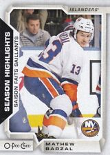 MATHEW BARZAL 2018-19 18-19 OPC O-PEE-CHEE SEASON HIGHLIGHTS SP #556 ISLANDERS