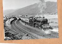 "West highlander 44932 in sidings at Fort William 30/6/86 Original 10""x8"" photo"