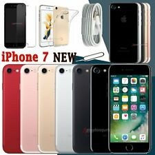Unlocked NEW Mobile Smartphone 256GB 128GB 32GB Apple iPhone 7 All Colors UK