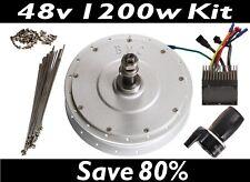 BMC 48V 1200W REAR High Performance Hub Motor Electric Bicycle Conversion Kit