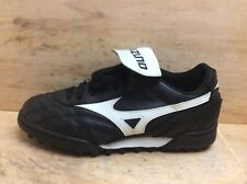Mizuno Ambition Junior Black Football Astro Soles Boots UK 7 EU 40.5 26 cm
