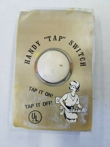 "VINTAGE HANDY "" TAP"" SWITCH"