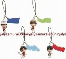 The Prince of Tennis strap mini figure set of 4 anime ryoma Banpresto Authentic