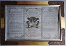 Kanontafel HANDSCHRIFT ~1750 ● Johann Konrad Schaffner  Burghausen Berchtesgaden