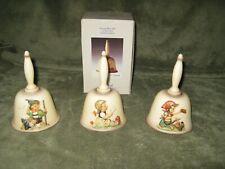 3 Goebel M.I.Hummel Annual Bells-Nos. 701, 706,707- 1 Orig.Box 1979-1984-1985