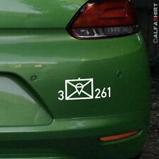 Taktisches Zeichen Bundeswehr BW für Kübel VW Iltis Wolf - Aufkleber 10cm breit