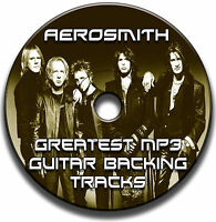 AEROSMITH STYLE MP3 ROCK GUITAR BACKING TRACKS COLLECTION JAM TRACKS CD