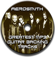 AEROSMITH STYLE MP3 ROCK GUITAR BACKING TRACKS COLLECTION JAM TRACKS CD
