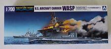 Aoshima USS Wasp CV-7 w/ I-19 in 1/700 10303 ST