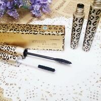 2Pcs/Set New Lash Extension Eyelash Long Curling Black Mascara+3D Fiber Lashes