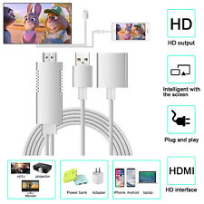 Lightning To HDMI TV Miracast DLNA Airplay HD Projector Cable For iPhone&Android