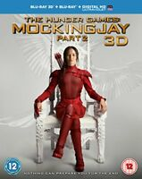 The Hunger Games  Mockingjay Part 2  Blu-ray 3D   Blu-ray   UV Copy  [2015]