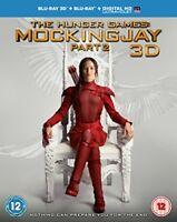 The Hunger Games  Mockingjay Part 2  Blu-ray 3D   Blu-ray   UV Copy  [2015]
