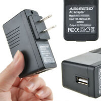 AC 100-240V 0.5A DC 5V 2A US Plug USB Power Supply Adapter Converter Charger