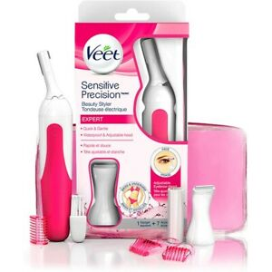 Veet Hair Removal Electric Trimmer Expert Sensitive Precision Beauty UNISEX -NEW